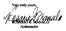 CLICK ON THIS SIGN ROSARIO G. MANALO